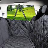 Автогамак Soolu Водонепроницаемый гамак (подстилка) на задние сидение в автомобиль. Аксессуар, фото 3