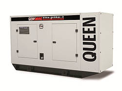 Трехфазный дизельный генератор Genmac Queen G100 IS (88 кВт)