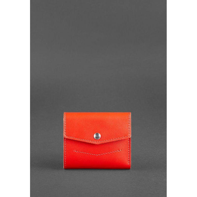 Жіночий шкіряний гаманець 2.1 Червоний