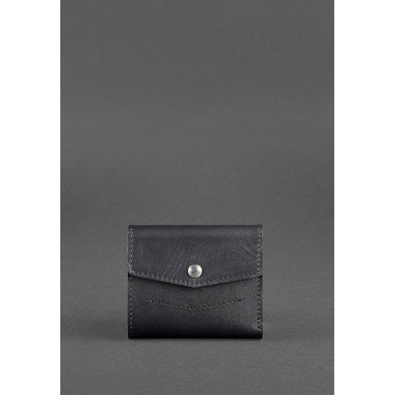 Кожаный кошелек 2.1 черный