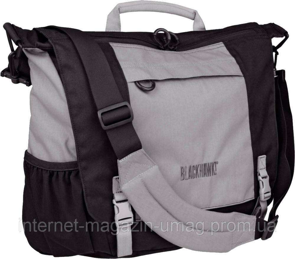 Сумка Blackhawk Courier Bag черно-серая