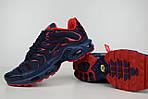 Мужские кроссовки Nike TN Plus, синие с красным, фото 4