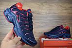 Мужские кроссовки Nike TN Plus, синие с красным, фото 5