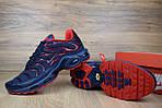 Мужские кроссовки Nike TN Plus, синие с красным, фото 7