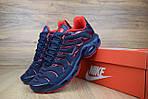 Мужские кроссовки Nike TN Plus, синие с красным, фото 9
