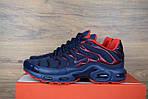 Мужские кроссовки Nike TN Plus, синие с красным, фото 10