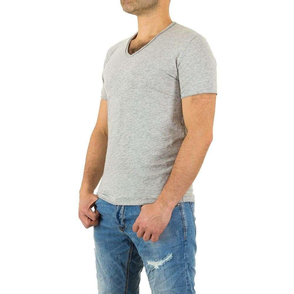 Мужская футболка от Y. Two Jeans - Lightgrey - KL-H-F037-Lightgrey