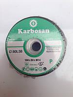 Аброзивная чашка KARBOSAN 100x50xM14 №180