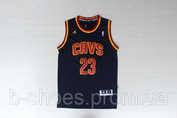 Мужская баскетбольная майка Cleveland Cavaliers (Lebron James) Dark blue