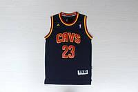 Мужская баскетбольная майка Cleveland Cavaliers (Lebron James) Dark blue, фото 1