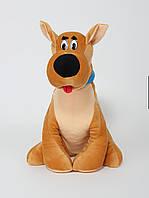 Мягкая игрушка собачка Скуби ду 50 см.