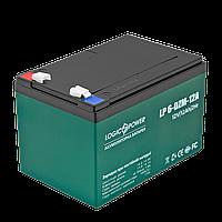 Аккумулятор тяговый свинцово-кислотный AGM LogicPower LP 6-DZM-12