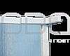 Душевая перегородка (полистирол) 70х190 см, фото 4