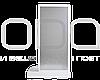 Душевая перегородка (полистирол) 70х190 см, фото 3