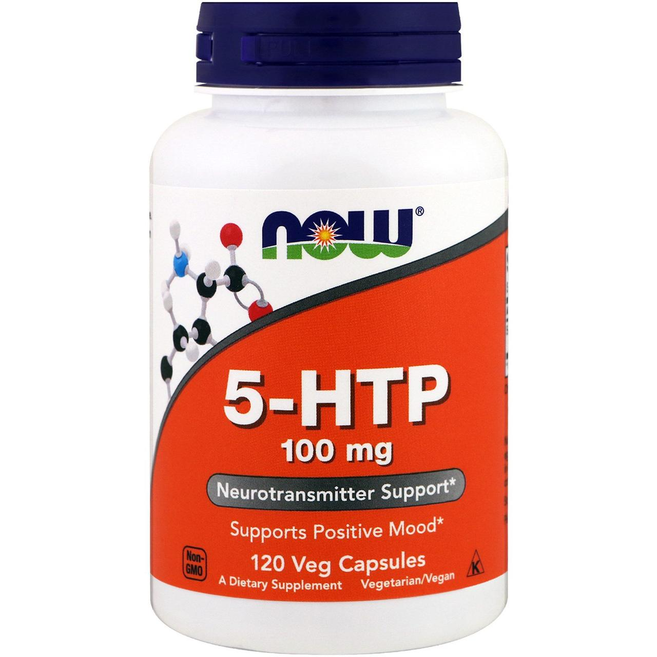 5-HTP, Now Foods, 100 мг, 120 капсул