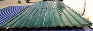 Профнастил кровельный 3 метровый ПК-15 зеленый толщина 0,4 размер 3Х1,17м, фото 3