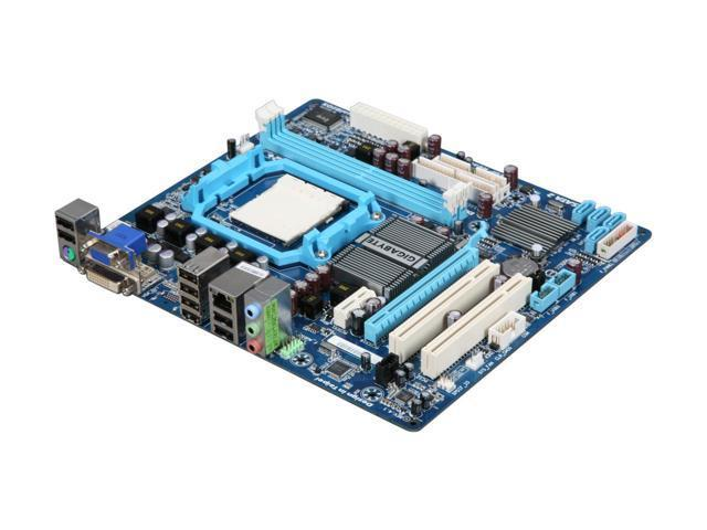 Материнская плата Gigabyte GA-MA74GM-S2 (AM2/AM2+/AM3, AMD 740G) бу