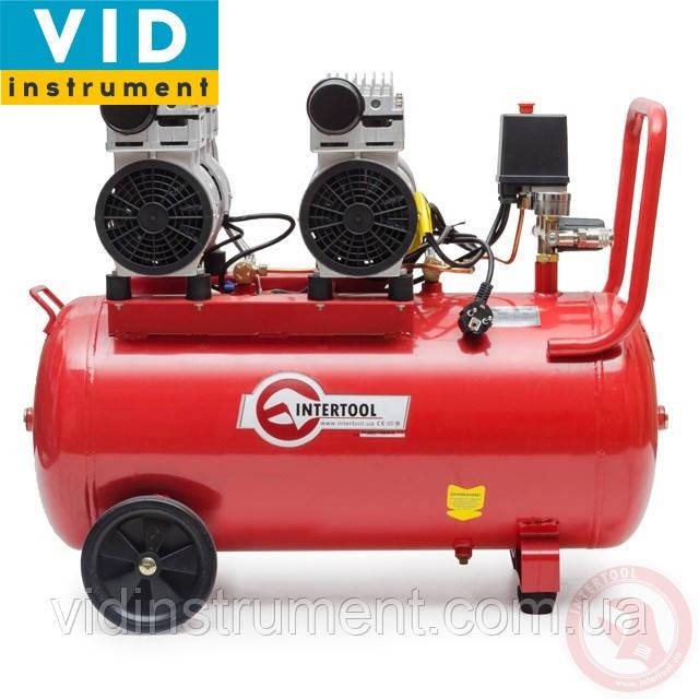 Компрессор Intertool PT-0023 (50л, безмасляный, 4 цилиндра, 270л/мин)