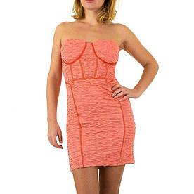 Женское платье от Angel Paris - coral - KL-12069-Корал