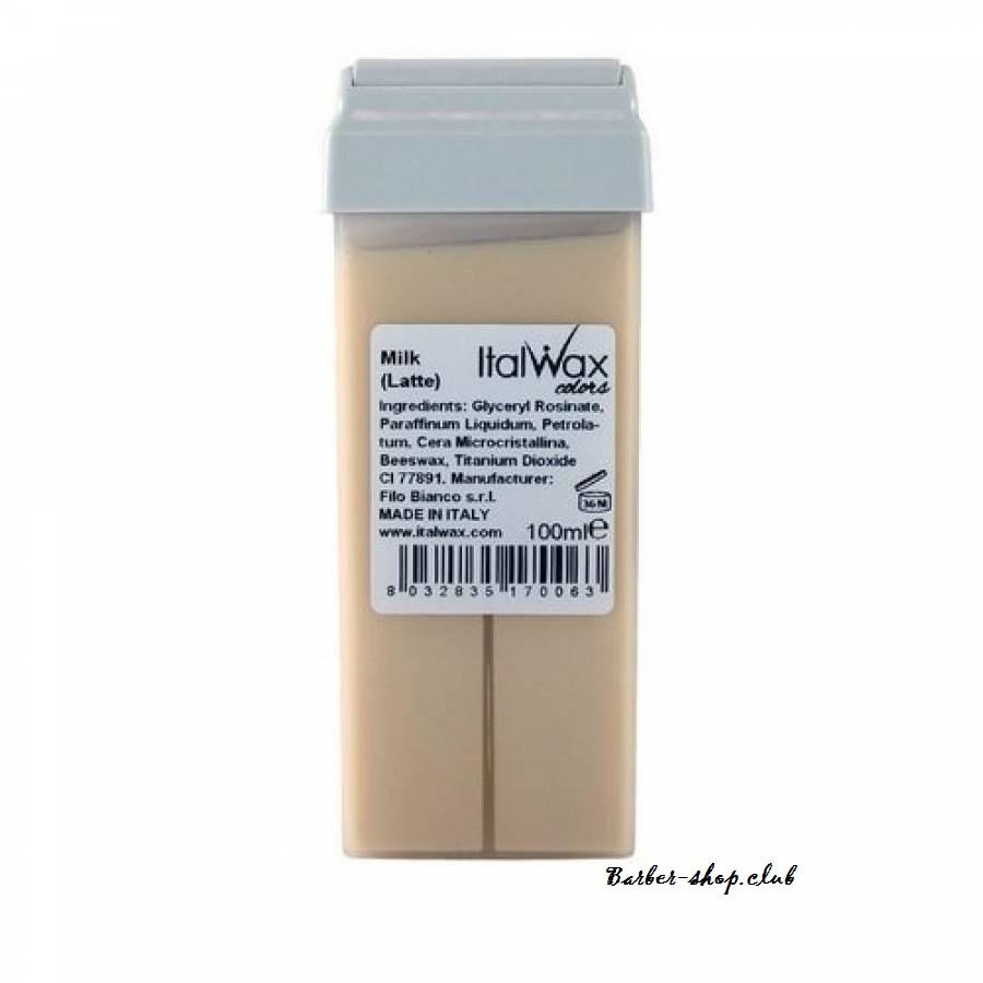 Воск для депиляции в картридже Белый шоколад ItalWax