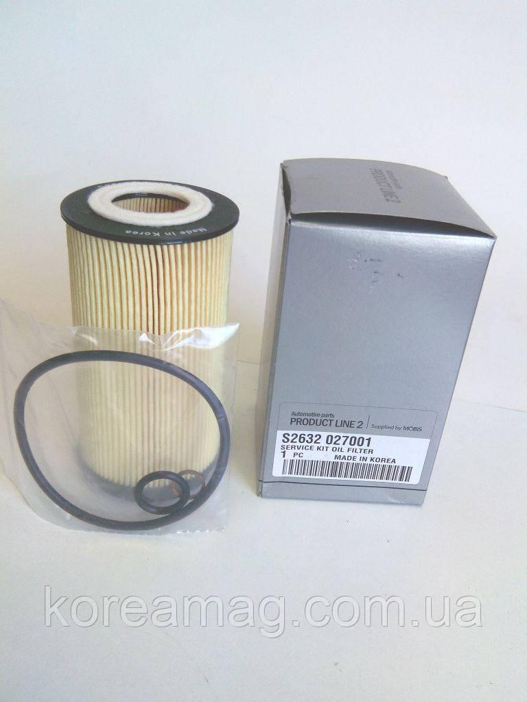 Фільтр масляний Hyundai Tucson 2,0 (дизель)