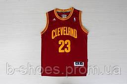 Мужская баскетбольная майка Cleveland Cavaliers (Lebron James)  Red