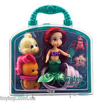 Disney Animators' Collection Ariel Mini Doll Play Set - 5''