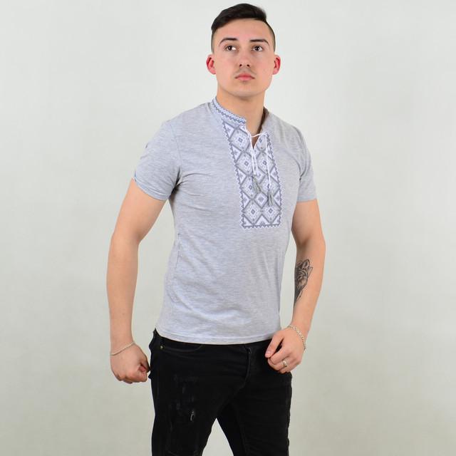 Чоловіча вишиванка футболка 77b8939916a4b