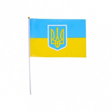 Флаг «Украина» 20×28, фото 2