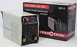 Сварочный аппарат инверторный Уралсталь ИСА ММА-340 + Сварочная маска Витязь МС-1 (хамелеон), фото 3