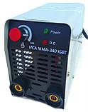 Сварочный аппарат инверторный Уралсталь ИСА ММА-340 + Сварочная маска Витязь МС-1 (хамелеон), фото 4