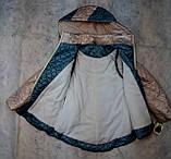 Демисезонная куртка-жилетка для девочки, фото 2