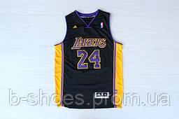Мужская баскетбольная майка Los Angeles Lakers (Kobe Bryant) Black