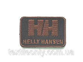 Нашивка HELLY HANSEN колір коричневий 50х35мм