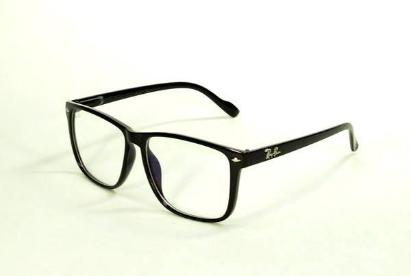 Солнцезащитные очки прямоугольные  оправа, пластик  Ray Ban женские (реплика ) черный ( B0526-2 C1, фото 2