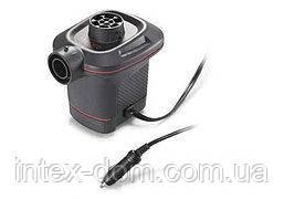 Электрический насос для надувания Intex 66636 от прикуривателя