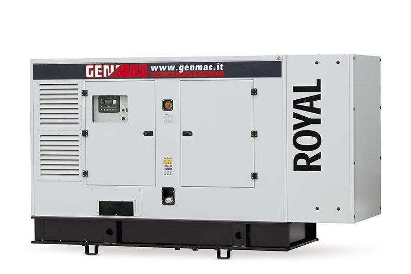 Трехфазный дизельный генератор Genmac Poyal G200 IS (176 кВт)