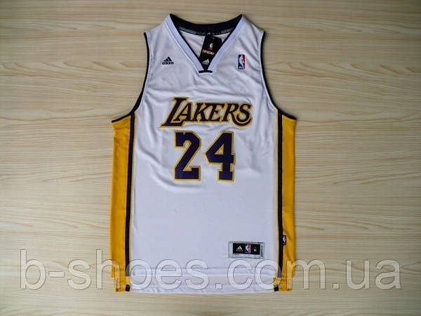 Мужская баскетбольная майка Los Angeles Lakers (Kobe Bryant) White