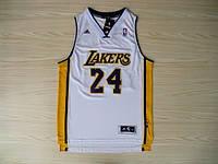 Мужская баскетбольная майка Los Angeles Lakers (Kobe Bryant) White, фото 1