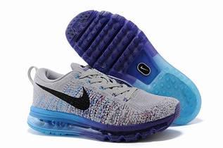 Кроссовки мужские Nike Flyknit Air Max 2014 / FLM-067 (Реплика)