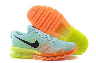Кроссовки мужские Nike Flyknit Air Max 2014 / FLM-068 (Реплика)