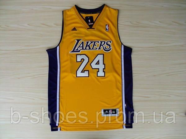 Мужская баскетбольная майка Los Angeles Lakers (Kobe Bryant) Yellow