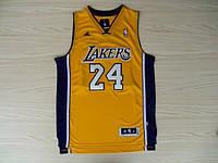 Мужская баскетбольная майка Los Angeles Lakers (Kobe Bryant) Yellow, фото 1