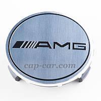 Ковпачки для литих дисків Mercedes AMG сірий, фото 1