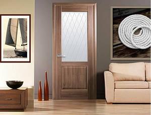 Дверное полотно Эпика со стеклом