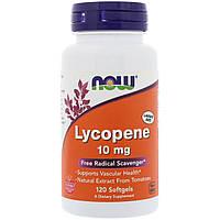 Лікопін, натуральний вітамін, для імунітету, Now Foods Lecopene, 120 капсул