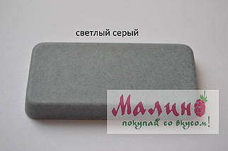 Мойка гранитная двойная (770х470х190 мм) Adamant TWINS (серый) , фото 2