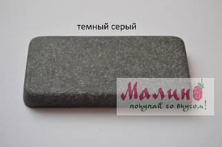 Мойка гранитная двойная (770х470х190 мм) Adamant TWINS (серый) , фото 3