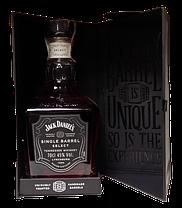 Виски Jack Daniels Single Barrel в подарочной упаковке 45% 0.7л, фото 3