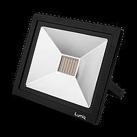 Светодиодный прожектор Ilumia 50Вт, 4000К (нейтральный белый), 5000Лм (043)